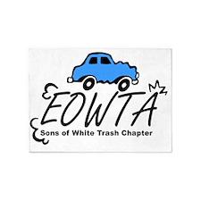 eowta logo big 5'x7'Area Rug