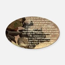 creed2321 Oval Car Magnet