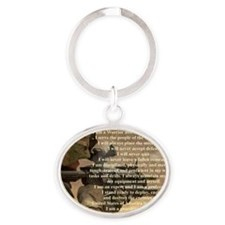 creed2321 Oval Keychain