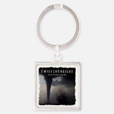 TwisterChasers T Shirt Square Keychain