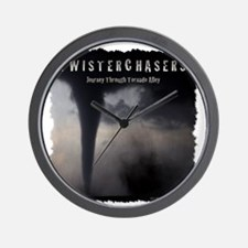 TwisterChasers T Shirt Wall Clock