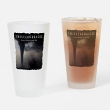 TwisterChasers T Shirt Drinking Glass