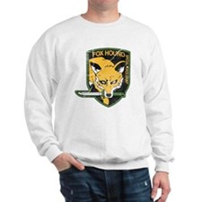 mgs_foxhound_final Sweatshirt