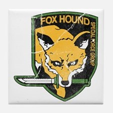 mgs_foxhound_final Tile Coaster