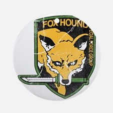 mgs_foxhound_final Round Ornament