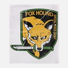 mgs_foxhound_final Throw Blanket
