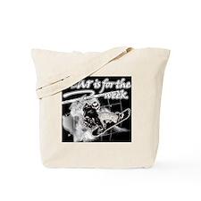 fear_tshirt_snowboarder2 Tote Bag