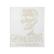 Caesar Romeboy B Throw Blanket