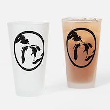 greatlakessticker Drinking Glass