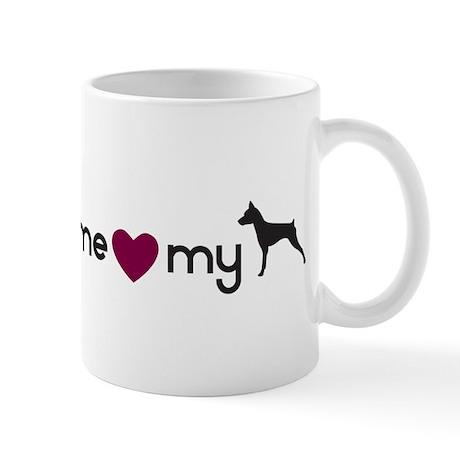 Love My Min Pin Mug