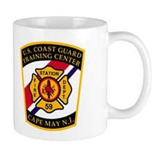 USCG Fire Station 59<BR> 11 Ounce Mug