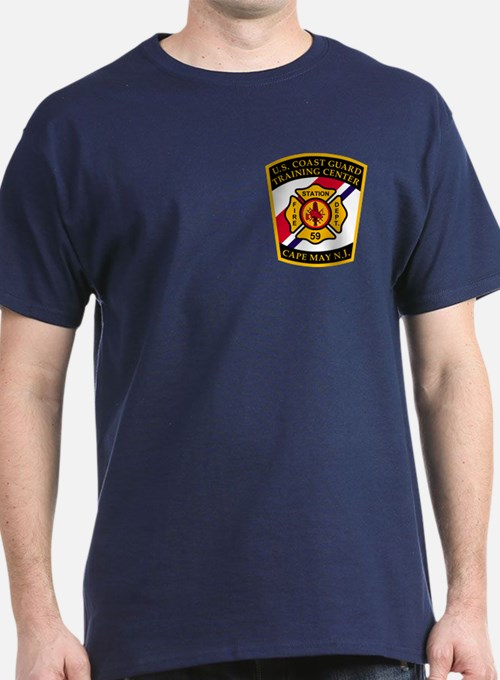 USCG Fire Department<BR> T-Shirt 2