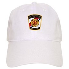 Fire Station 59<BR> White Baseball Cap