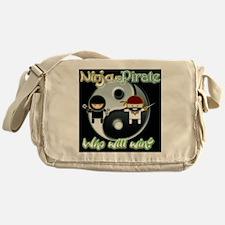 ninjapirate Messenger Bag