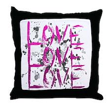 lovelovelove Throw Pillow