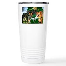irish dogs 16x12 copy Travel Mug