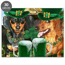 irish dogs 16x16 copy Puzzle