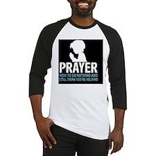 2-Prayer.square Baseball Jersey