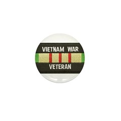 RVN War Veteran Mini Button