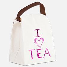 ilovetea Canvas Lunch Bag