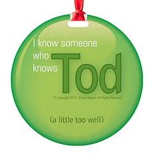 2-knowstod Ornament