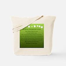 FriendshipWish_Square Tote Bag