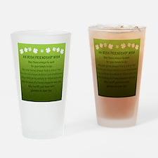 FriendshipWish_Square Drinking Glass