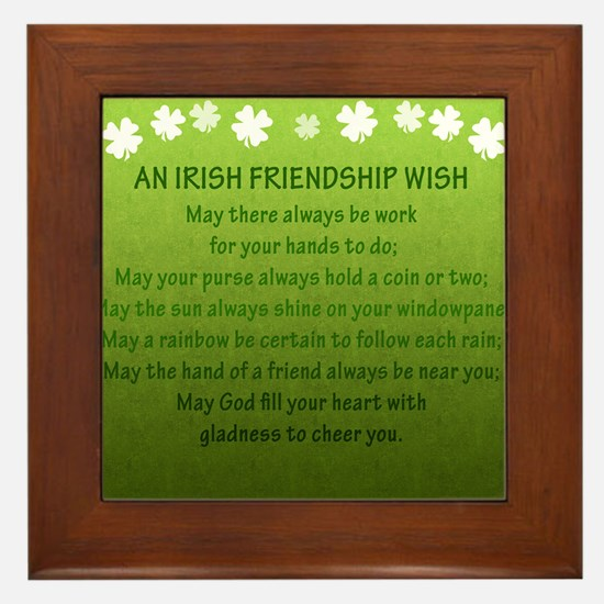 FriendshipWish_Square Framed Tile