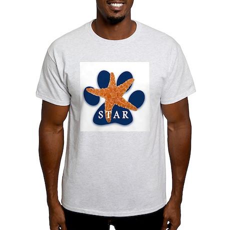 STAR Logo products Ash Grey T-Shirt