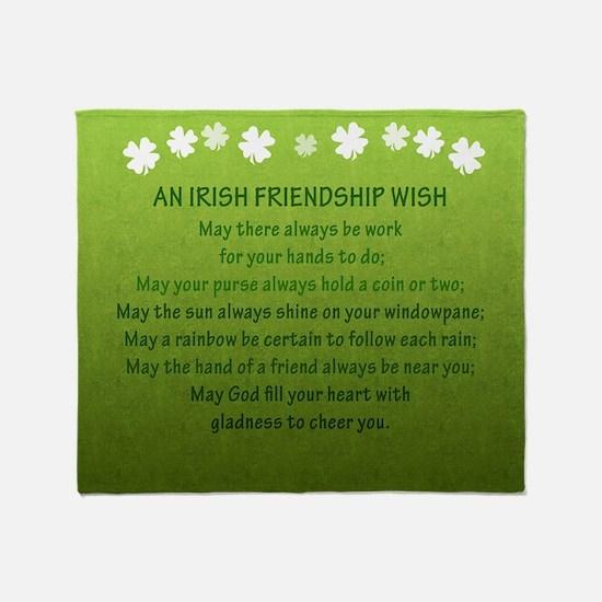 2-FriendshipWishSquare_Bleed Throw Blanket
