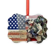 Patriotic_soldier 5 Ornament