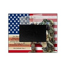 Patriotic_soldier 5 Picture Frame