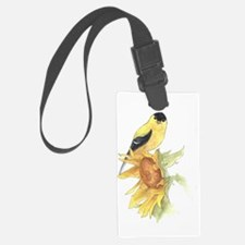 finished goldfinch Luggage Tag