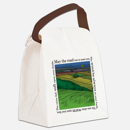 MaytheroadFINALmain. Canvas Lunch Bag