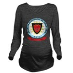 East Timor Coat Of Arms Long Sleeve Maternity T-Sh