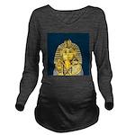 Tutankhamun Long Sleeve Maternity T-Shirt