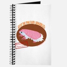 Save the Pink Fairy Armadillo Journal