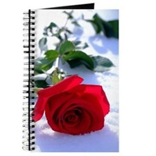 Rose in Snow Journal