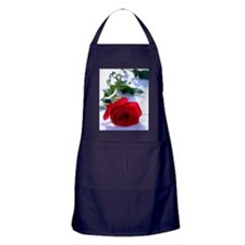 Rose in Snow Apron (dark)