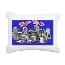 BrooklynBridge_4.58x2.91 Rectangular Canvas Pillow