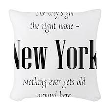 NYgot_10x10_apparel_black Woven Throw Pillow