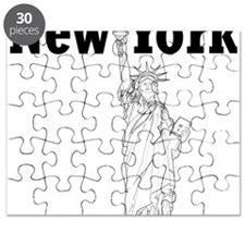 StatueOfLiberty_10x10_apparel_Black Puzzle