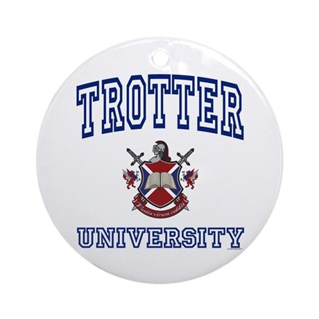 TROTTER University Ornament (Round)