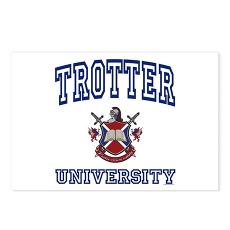 TROTTER University Postcards (Package of 8)