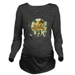 Palm Tree Estonia Long Sleeve Maternity T-Shirt