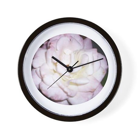 Magenta & Pink Roses Wall Clock