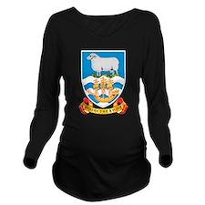 Falkland Islands Coat Of Arms Long Sleeve Maternit