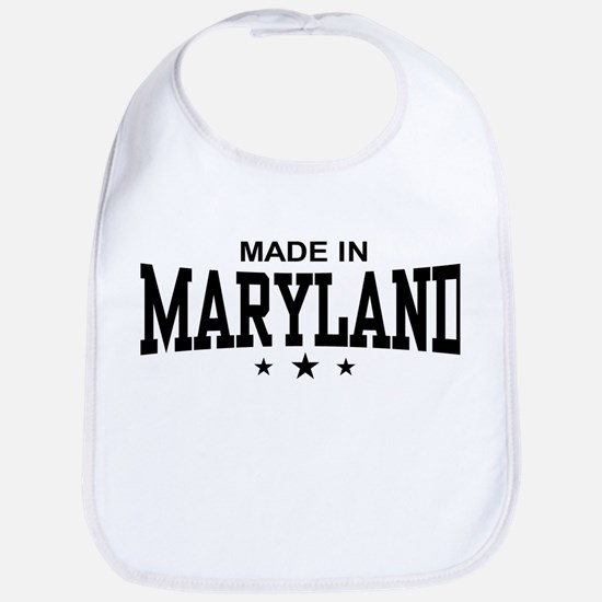 Made in Maryland Bib