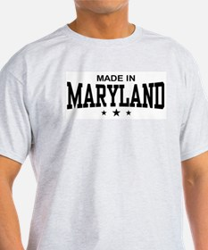 Made in Maryland Ash Grey T-Shirt