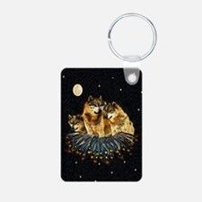 Sky Wolves Keychains